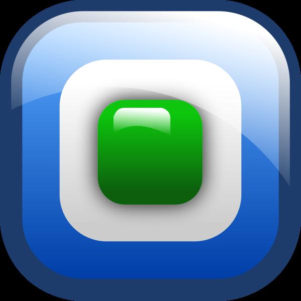 Radio button ON vector icon