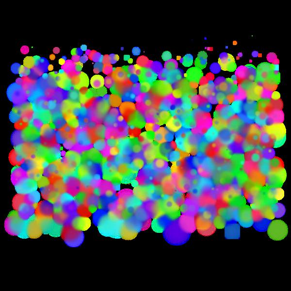 rainbow circles 06