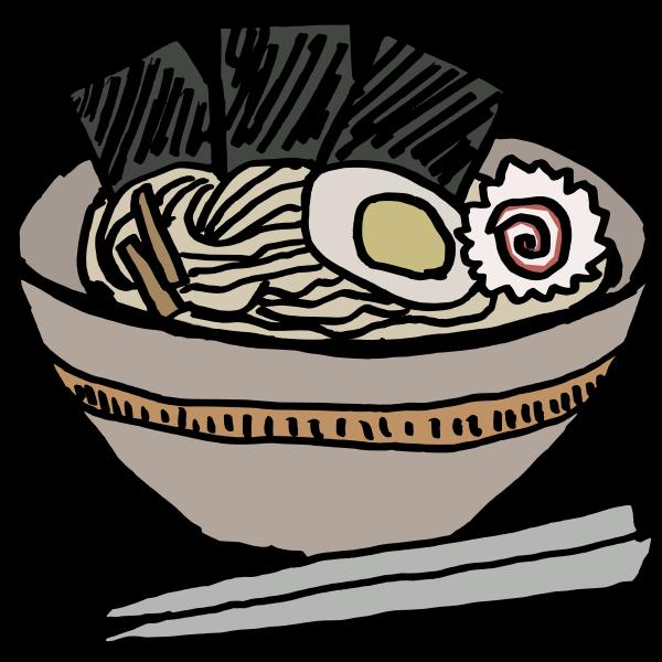 ramen bowl with nori