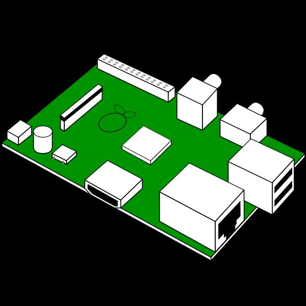 Raspberry pi PCB