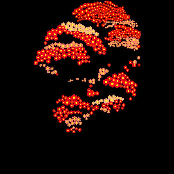 red aiflowers tree