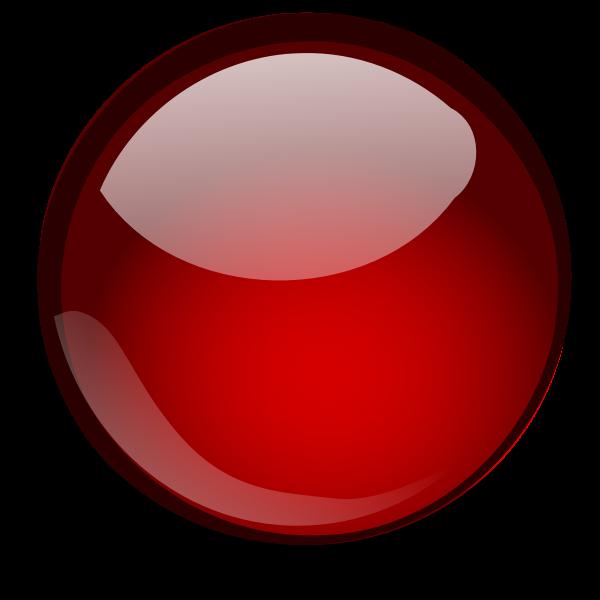 Glossy orb vector clip art