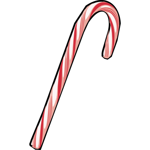 Red candy cane