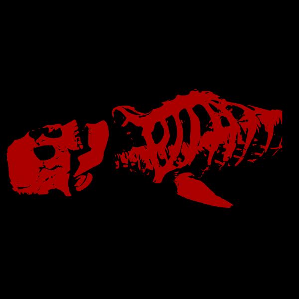 Red skeleton