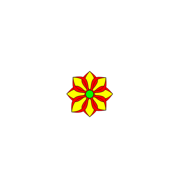 A simple flower