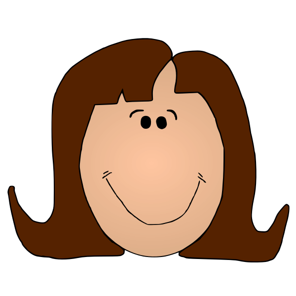 Ladyface Color Vector