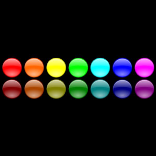 Button set vector clip art