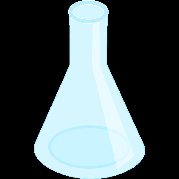Erlenmeyer flask, empty
