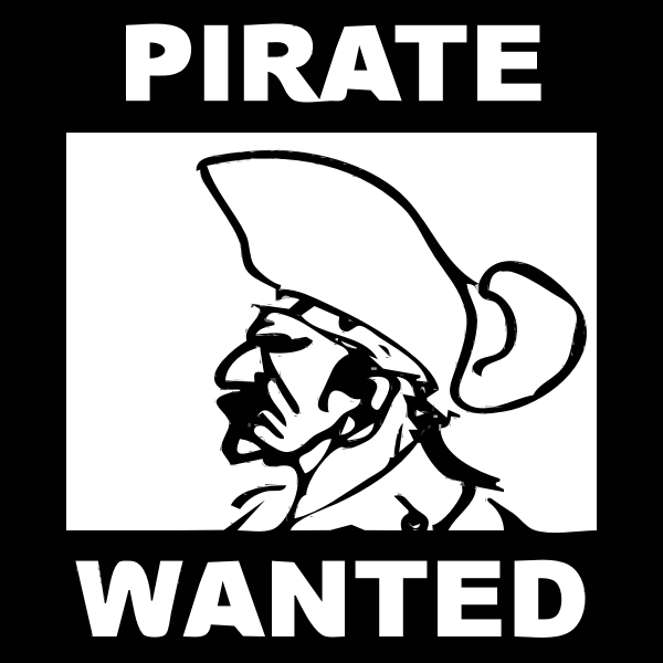 Poster of a pirate