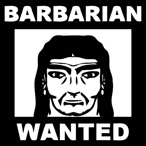 request Character 16 BARBARIAN 2015072949