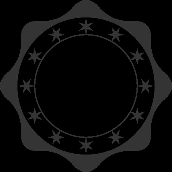 Retro badge vector illustration.