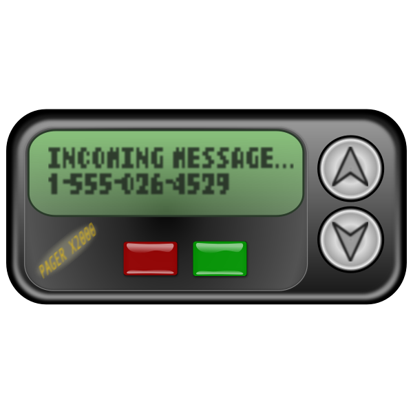 Pager symbol