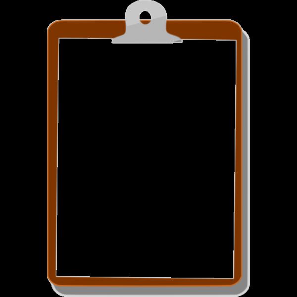 Clipboard Vector Clip Art