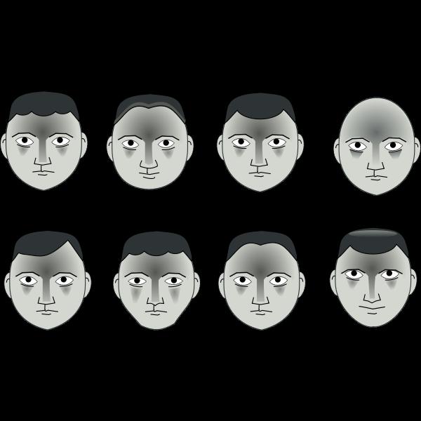 Eight heads