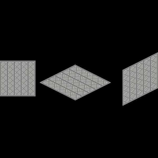 how make isometric tile