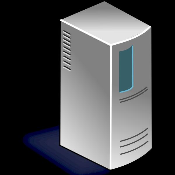 Network server vector image