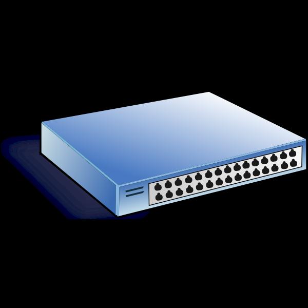 Net switch vector image