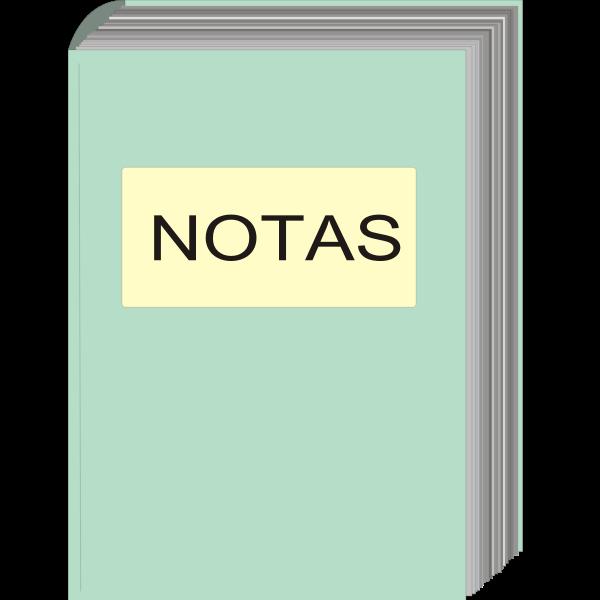 Notebook vector illustration