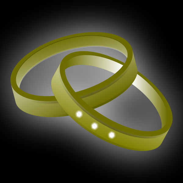 Male and female rings