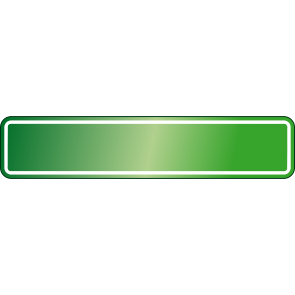 Green road sign template vector image