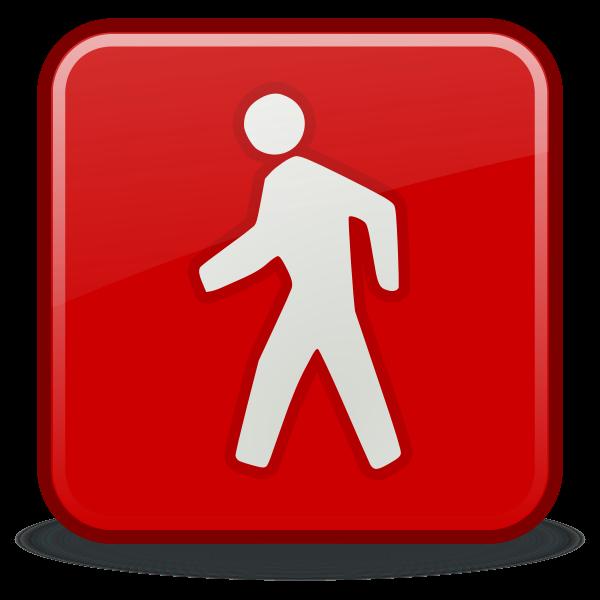 Exit emblem vector illustration