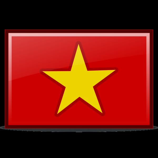 Vietnam's flag   Free SVG
