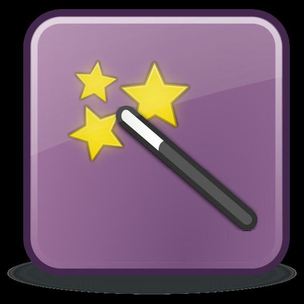 Purple icon theme