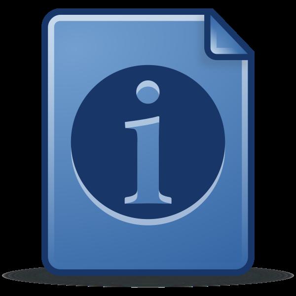 Info symbol image