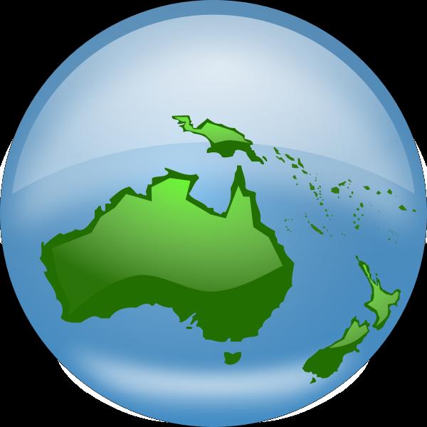 Globe vector drawing