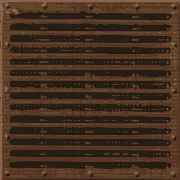 Metal ventilation grill vector image