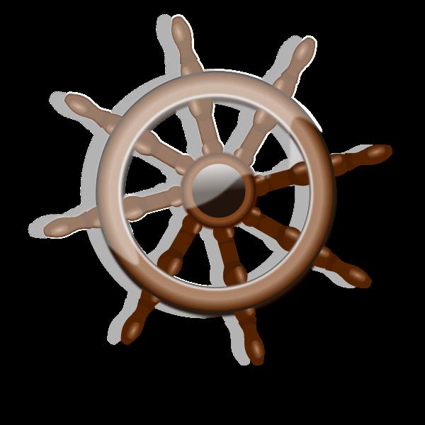 A rudder