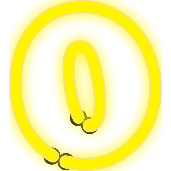 Neon Numerals-0 1
