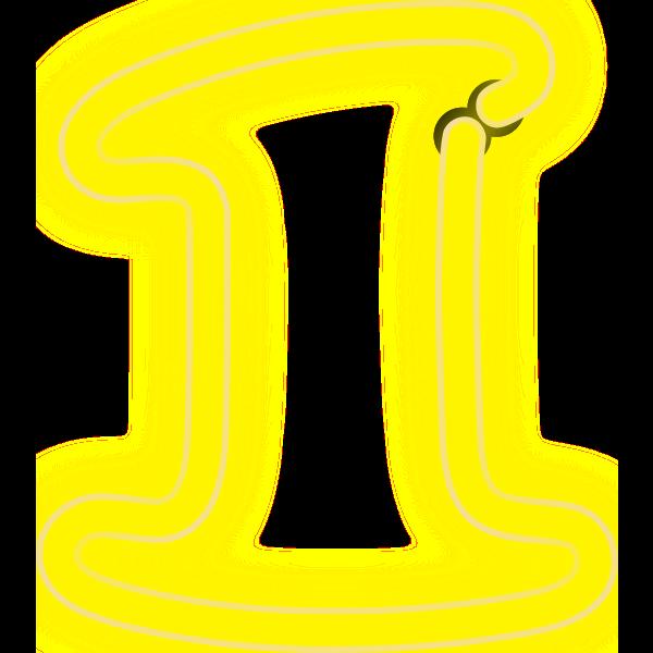 Neon Numerals-1 1
