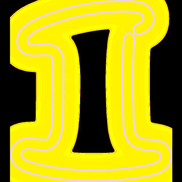 Neon Numerals-1 2