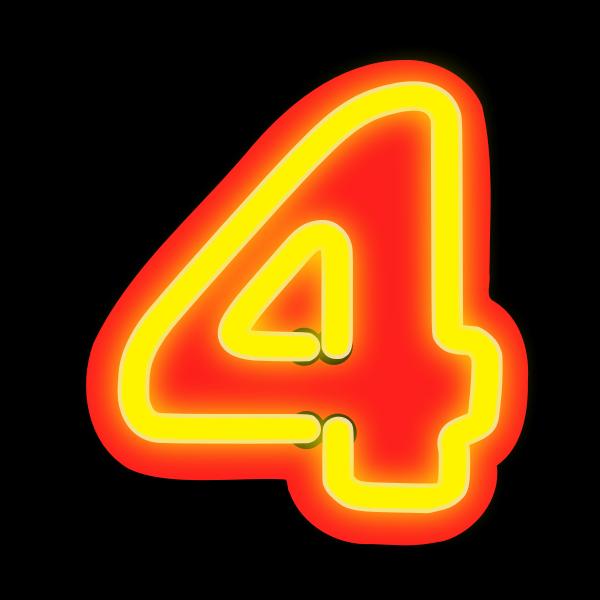 Neon Numerals-4