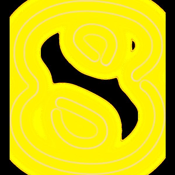 Neon Numerals-8 2