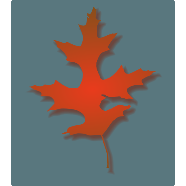 Oak Leaf - Autumn