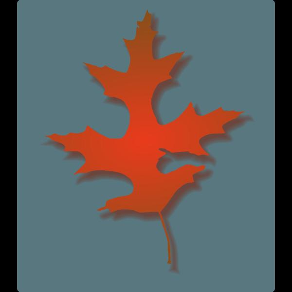 Oak Leaf - Autumn