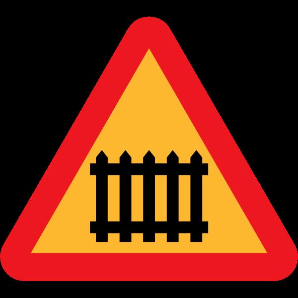 Gate ahead vector sign