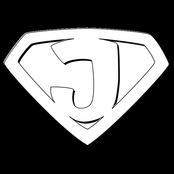 Super Jesus Outline