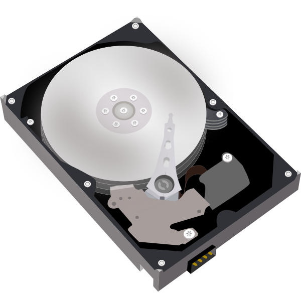Hard disk vector rimage