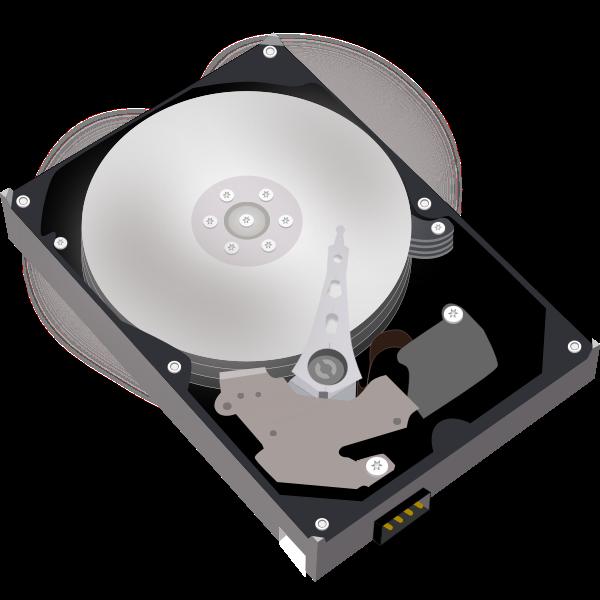 Hard disk vector rimage