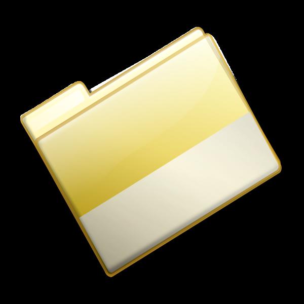 Closed folder vector image
