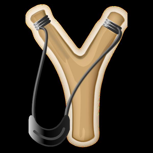 Slingshot vector image