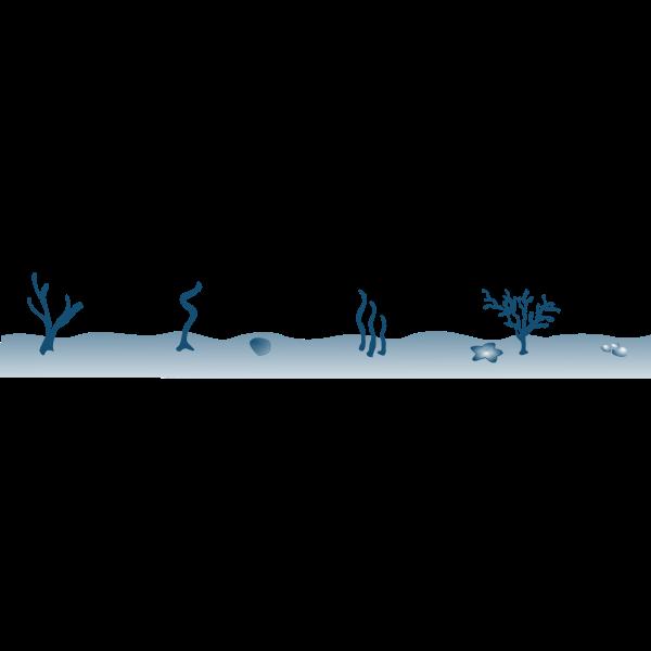 Seabed vector clip artt