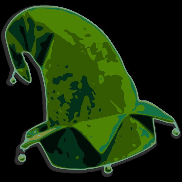 Elf hat vector graphics