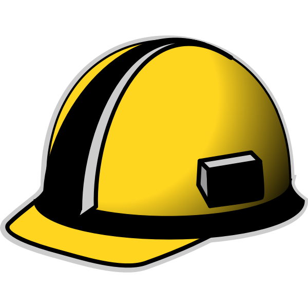 Protective hat vector image