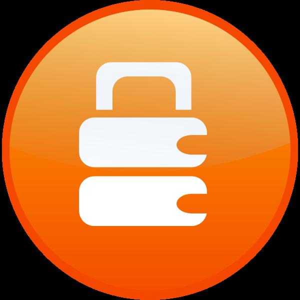 Secure lock vector illustration