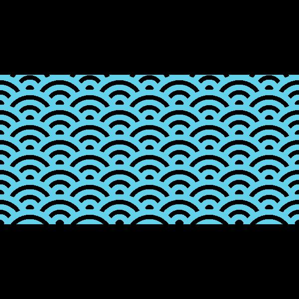 seigaiha blue