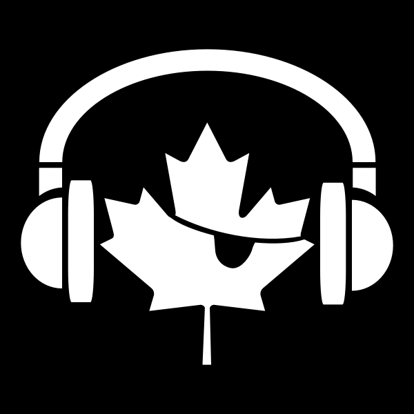 Music Pirates of Canada flag vector image
